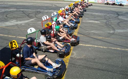 Go-Kart and Monster Truck Rides
