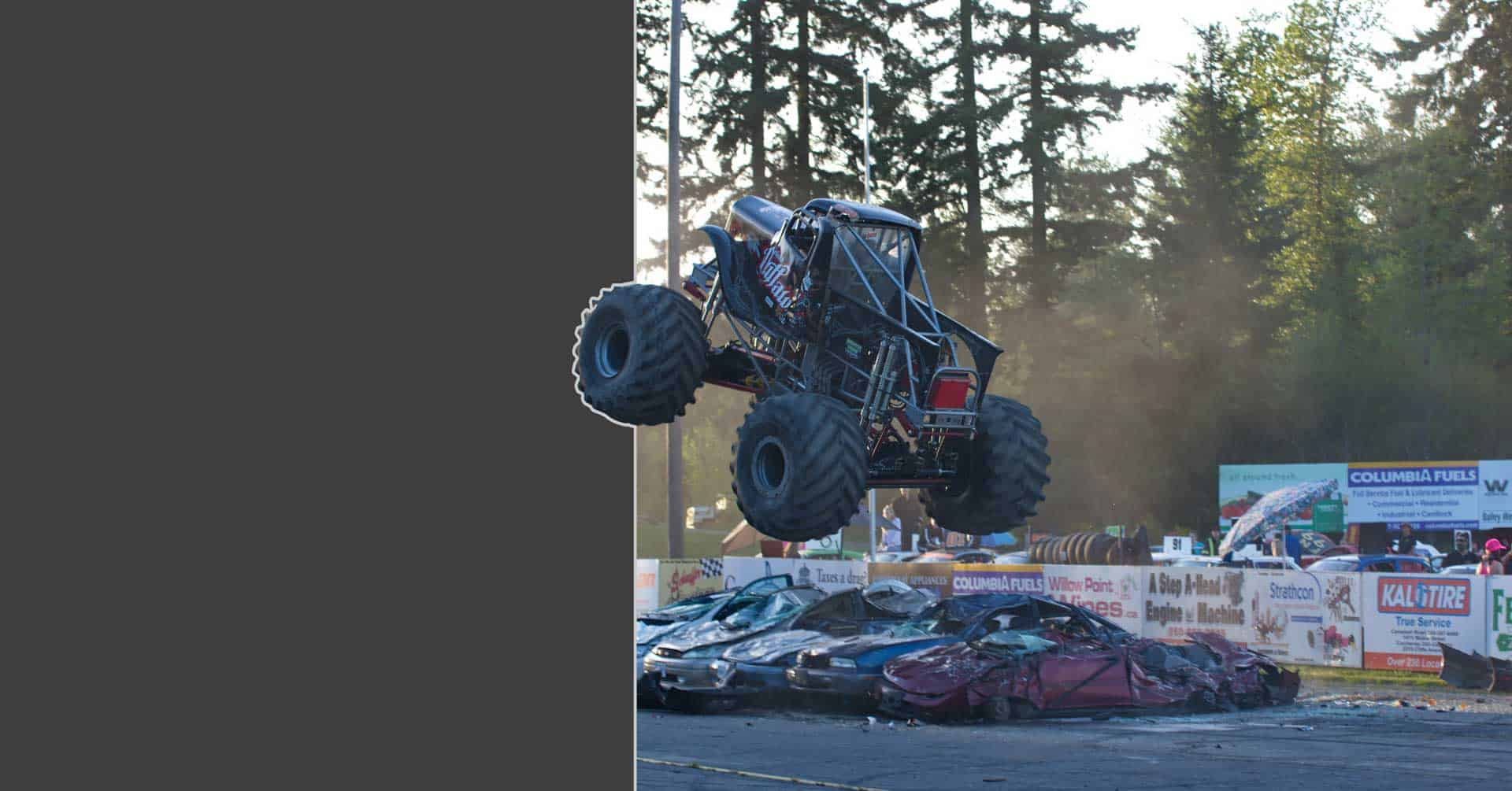 MONSTER TRUCKS <br>ARE BACK!!!
