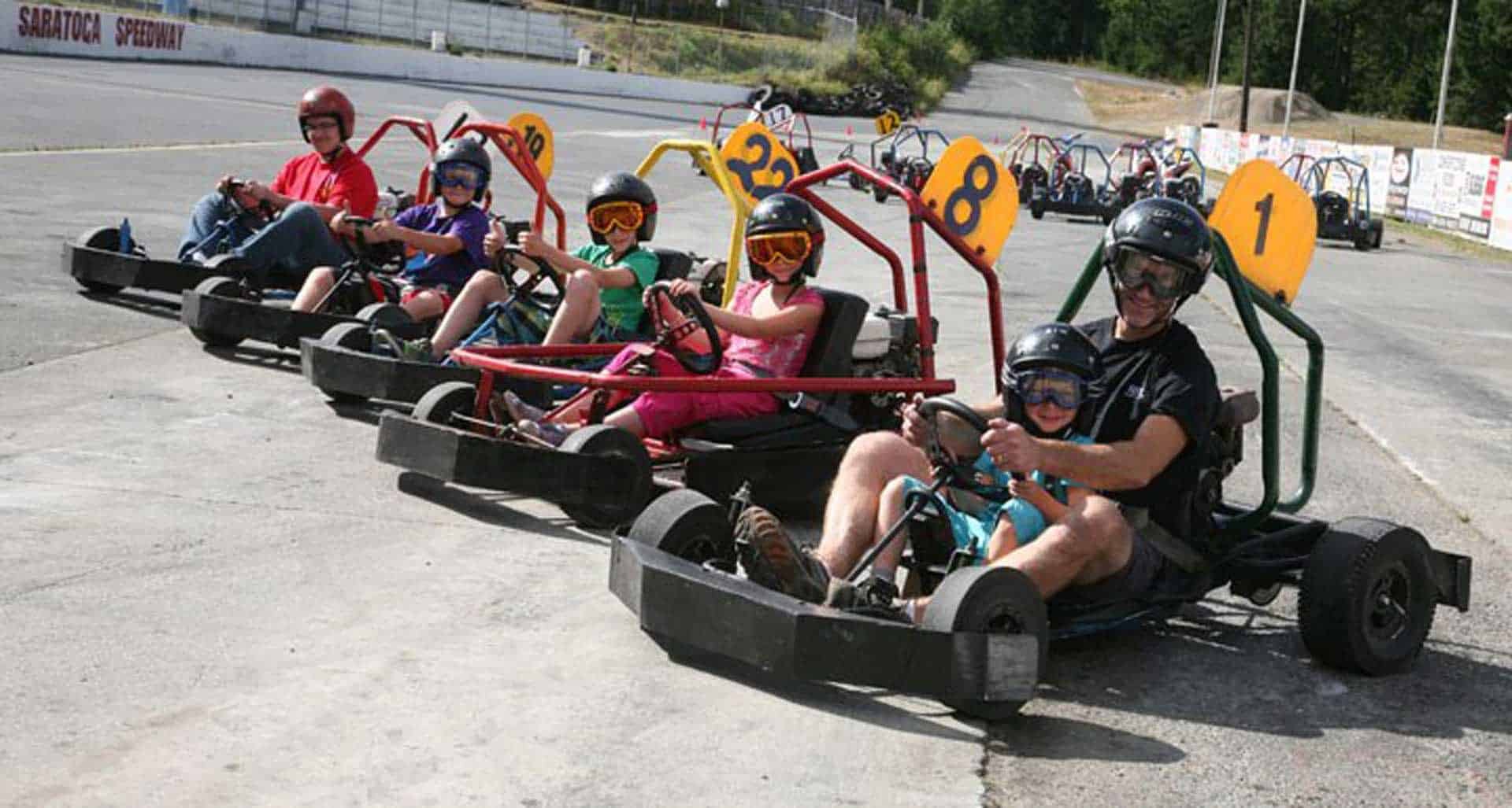 Go-Kart – Now closed for the season – See you next year!