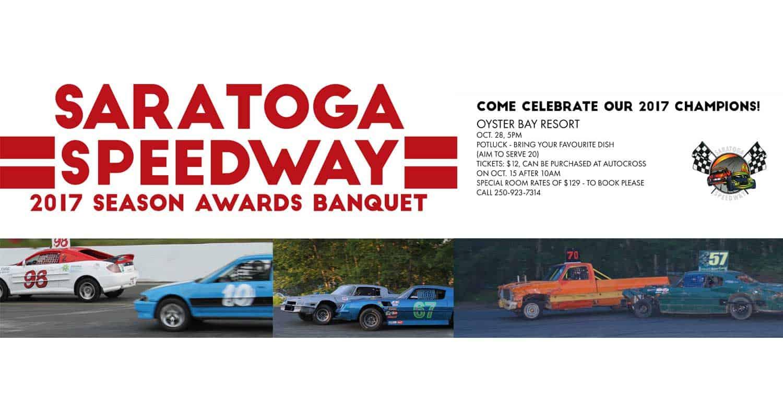 Saratoga 2017 Season Awards Banquet