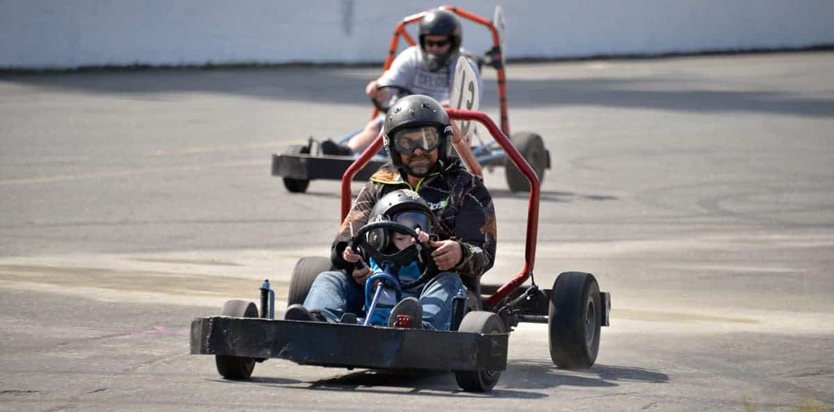 Go-Kart – Open Every Day – 12 noon to 4 pm
